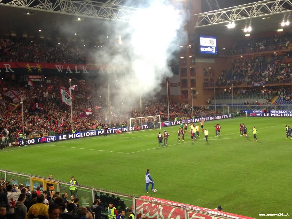 derby 2013 sampdoria-genoa 0 3