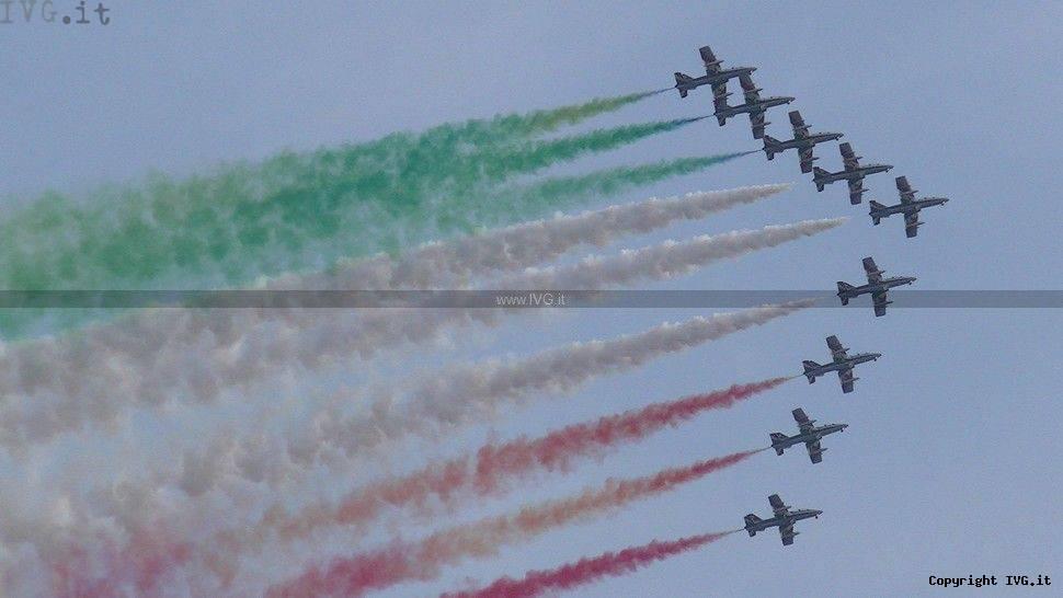Frecce Tricolori ad Andora 2013