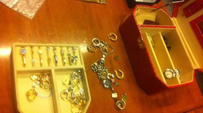 furto, rapina gioielleria donato sampierdarena