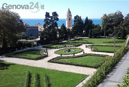 giardino villa duchessa di galliera