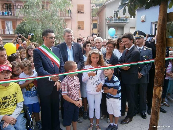 inaugurazione scuola mezzanego
