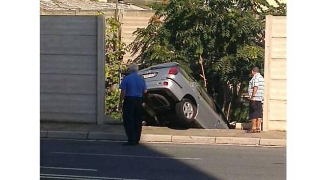 incidente via baracca sv