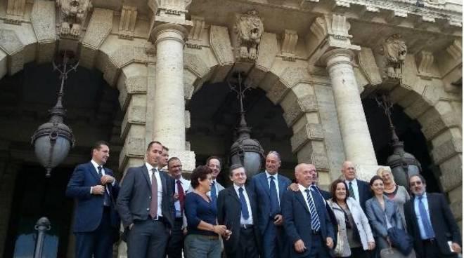 melgrati a roma per chiusura tribunali