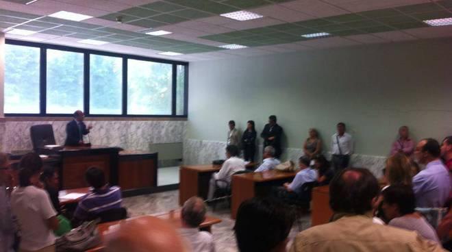 Riunione tribunale Albenga