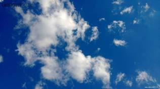sereno nuvole bel tempo cielo