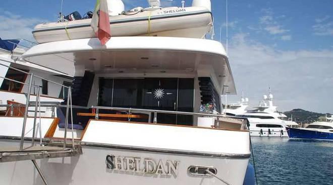 yacht sheldan droga