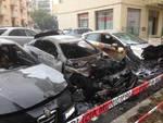 auto incendiate via de rege albisola