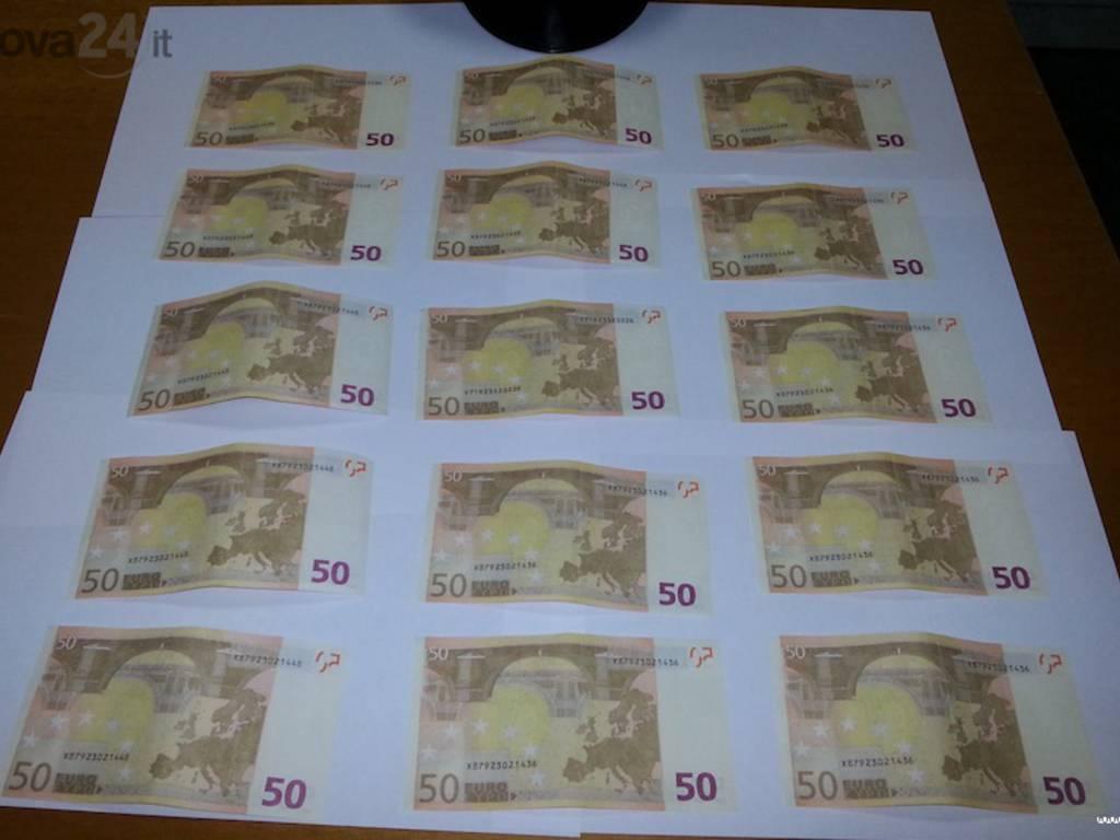 banconote soldi 50 euro falsi