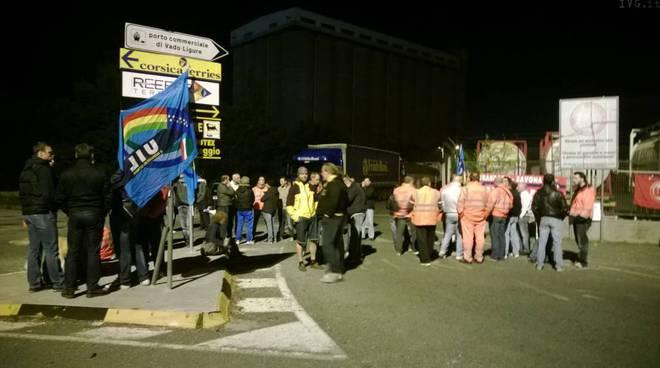 Blocco e sciopero Reefer terminal Vado Ligure
