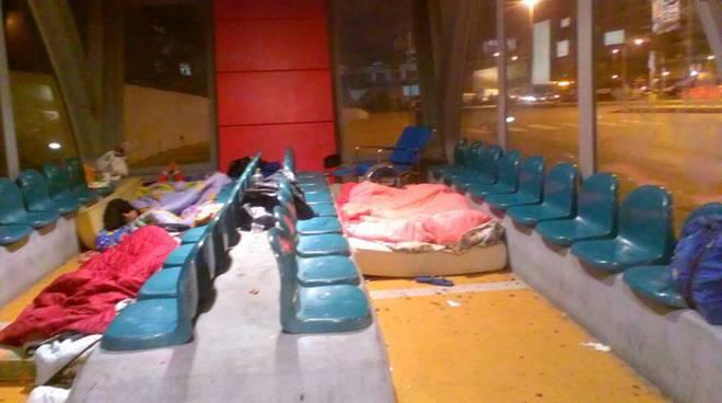 dormitorio terminal bus stazione