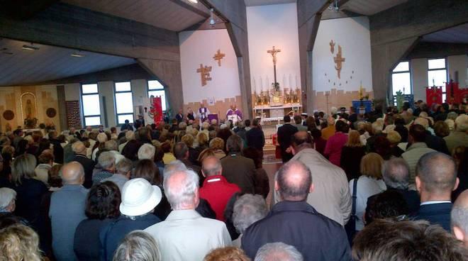 funerale Maritano a Borghetto