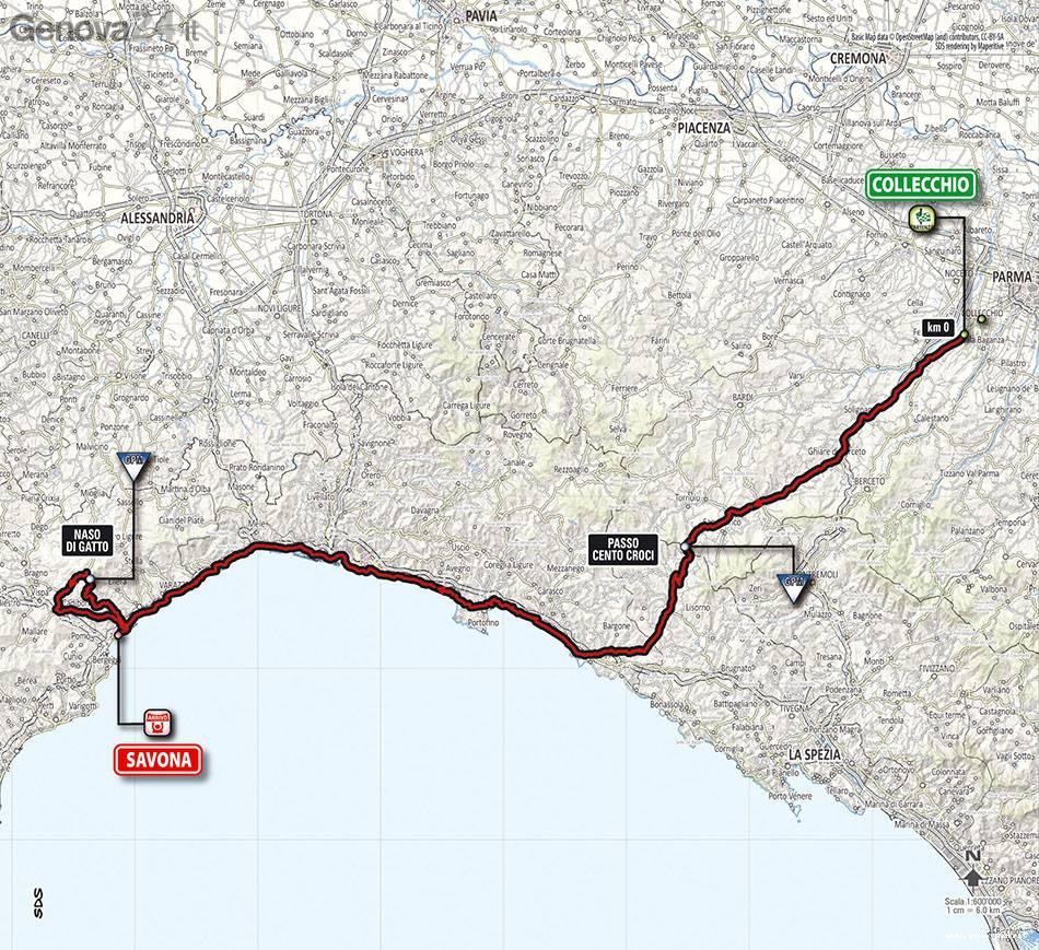 giro d'italia 2014 ciclismo collecchio-savona
