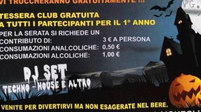 halloween: alcol a 1 euro