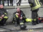 incendio corso europa via bainsizza