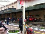 incendio stazione principe ritardo treni