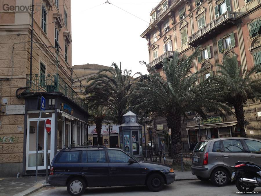 piazza modena via buranello sampierdarena