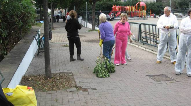pra pulizia giardini
