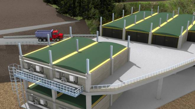 Rendering impianto pretrattamento Vado Boscaccio