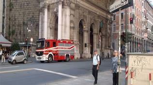 vigili del fuoco calcinacci ponte monumentale