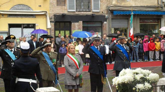 Albenga celebrazioni IV Novembre