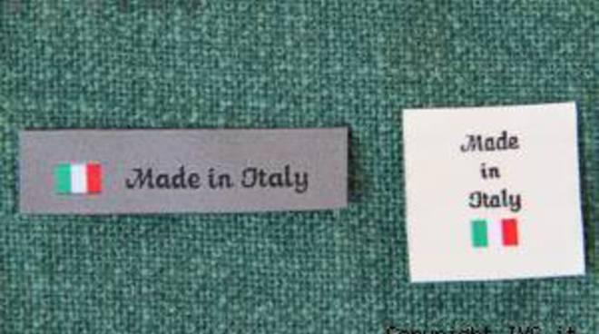 etichetta Made in Italy