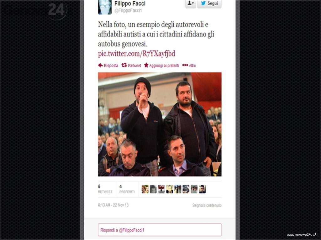 filippo facci twitter sciopero amt