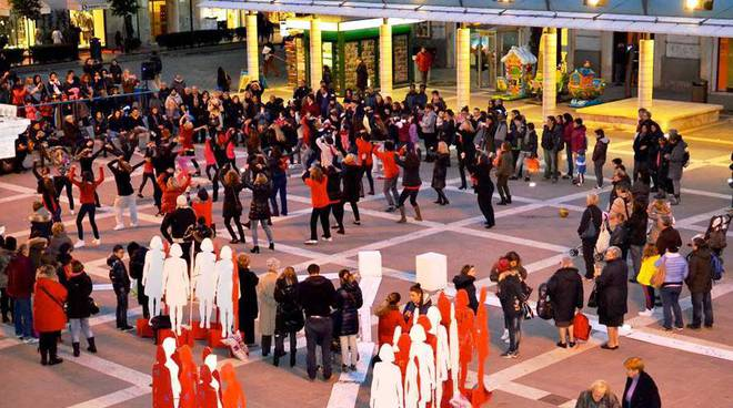 flash mob violenza donne