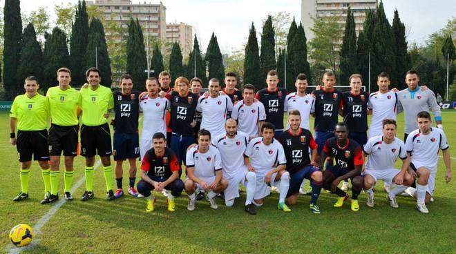 Genoa e Vado amichevole 2013