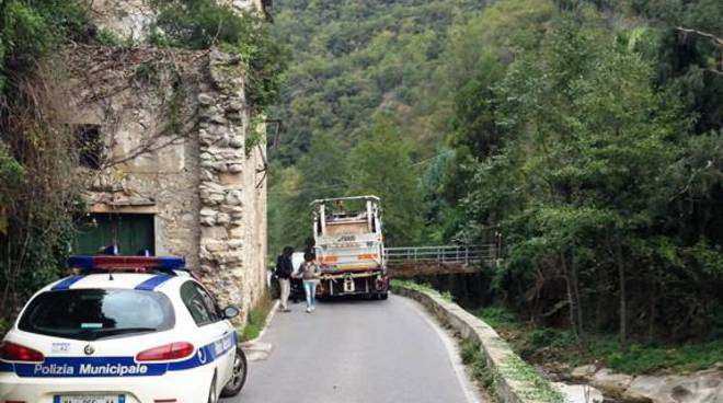 incidente provinciale vezzi