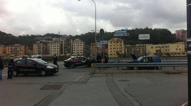 Incidente In Zona Ikea Due Carabinieri In Codice Rosso Genova 24