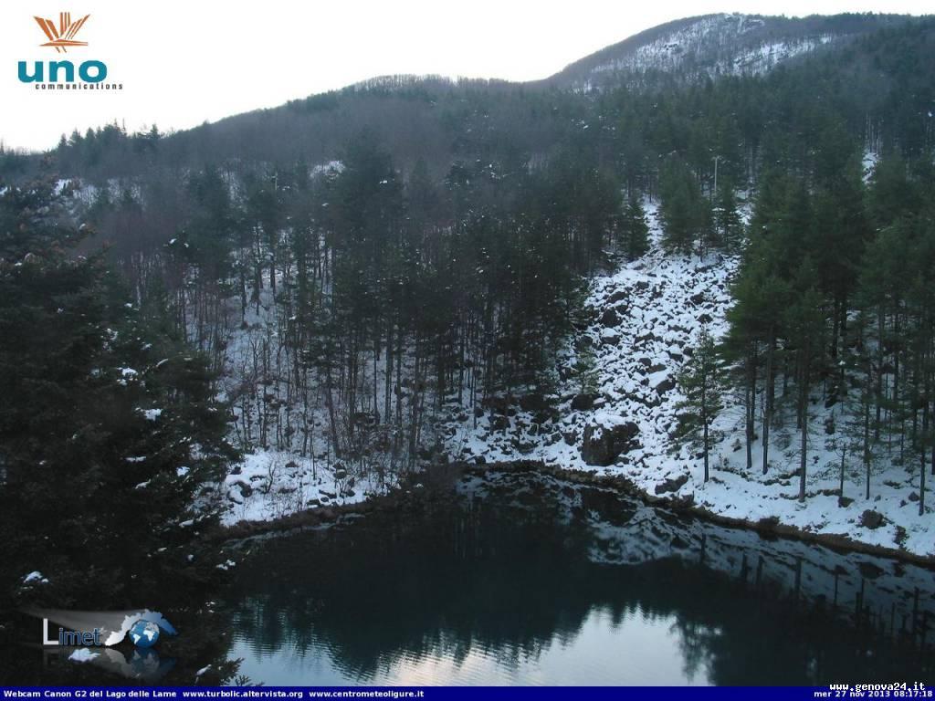 lago delle lame neve