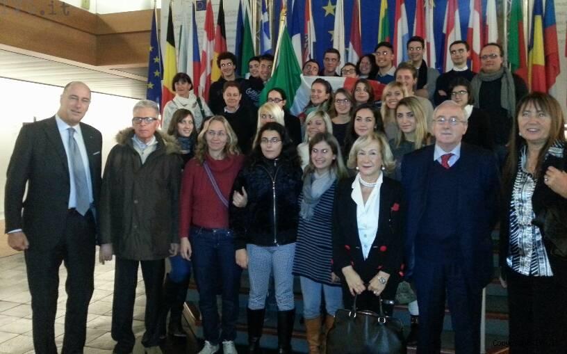 Melgrati al parlamento europeo