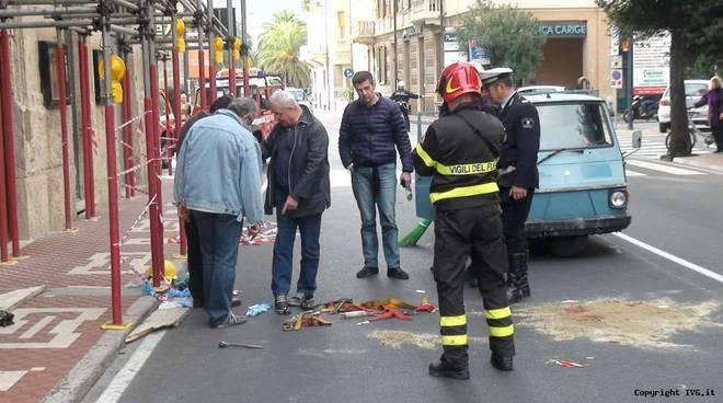 Operaio muore caduto da ponteggio Finalpia