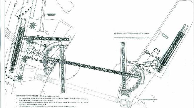 ponte mobile darsena progetto