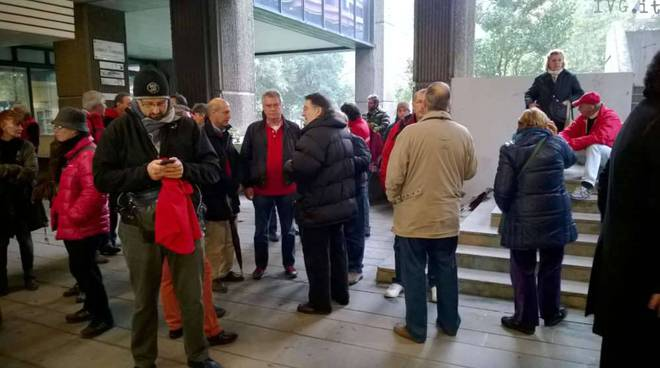 Protesta balneari genova