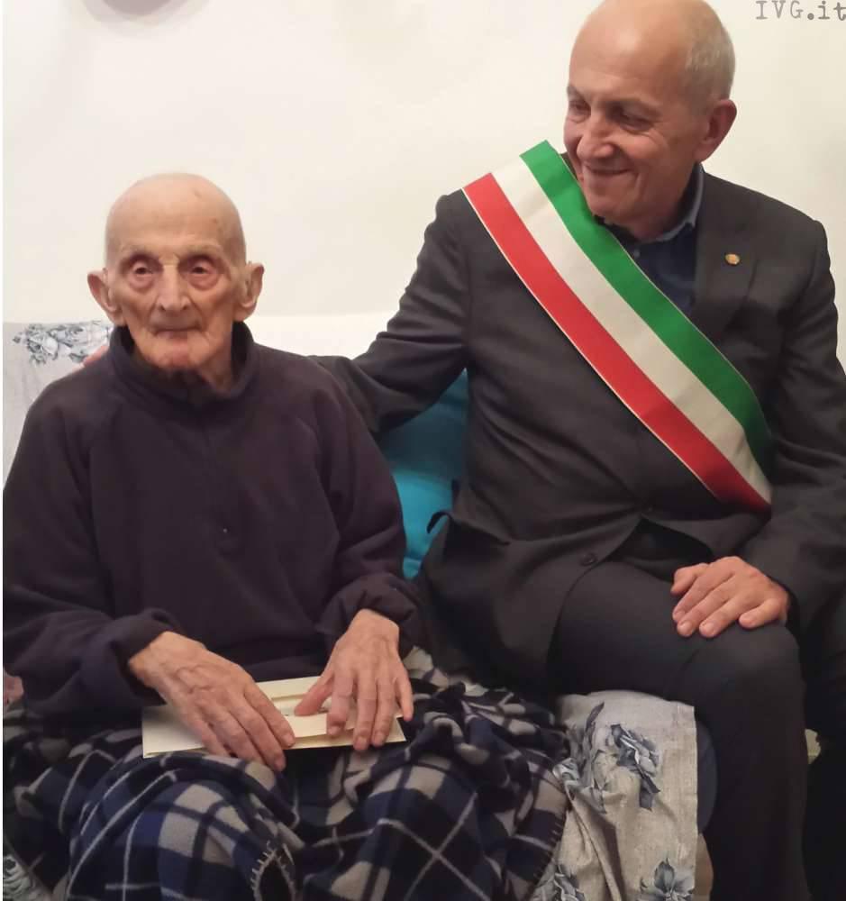 Richeri e Conrado Albino (nonno centenario)