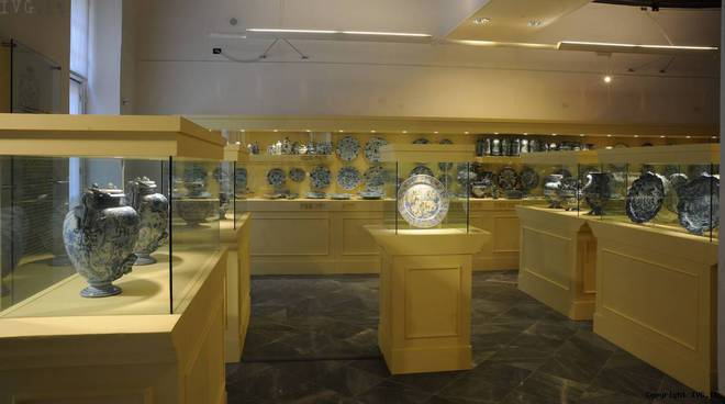 sala ceramica Boncompagni Ludovisi