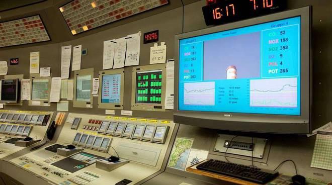 Sala Controllo VL 3 Tirreno Power operazione trasparenza