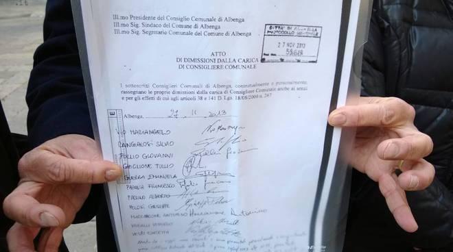Scioglimento del Consiglio comunale di Albenga