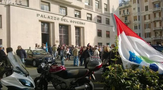 sciopero prefettura