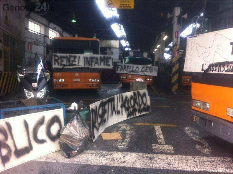 sciopero selvaggio amt 19 novembre 2013