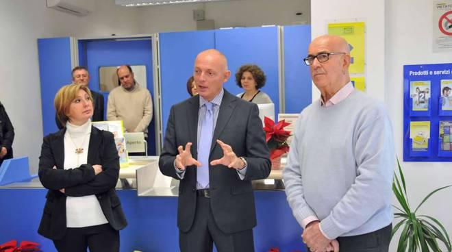 A Garlenda inaugurato nuovo ufficio postale