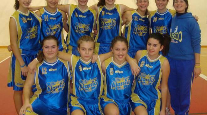 Basket femminile, Under 17: l'Alassio