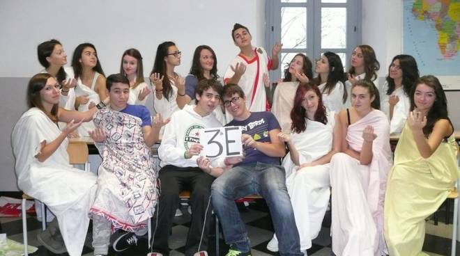 Calendario 2014 del Liceo Calasanzio