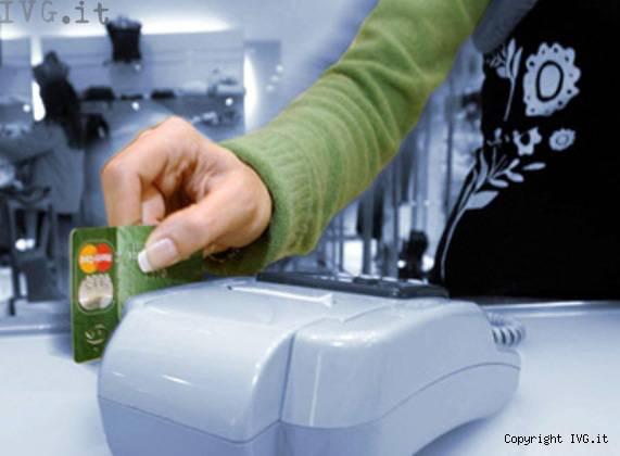 carta di credito, pos, bancomat