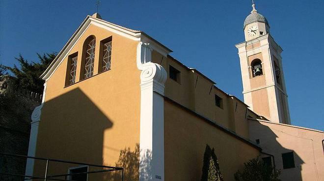 chiesa parrocchiale San Martino Vescovo Bergeggi