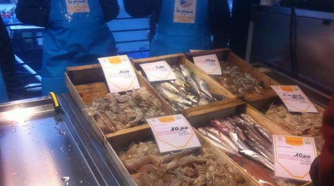 genova, mercato ittico, pesce chilometro zero