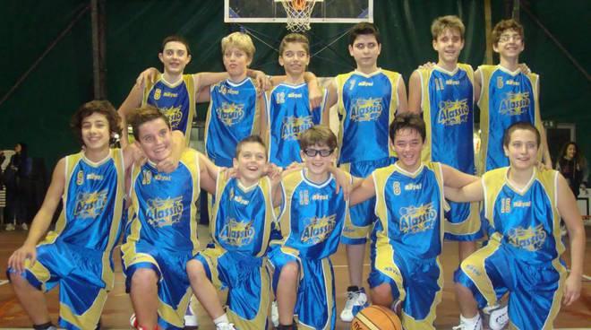 Pallacanestro Alassio, basket, Under 14