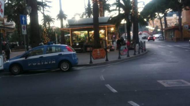 Polizia piazza del Popolo Albenga