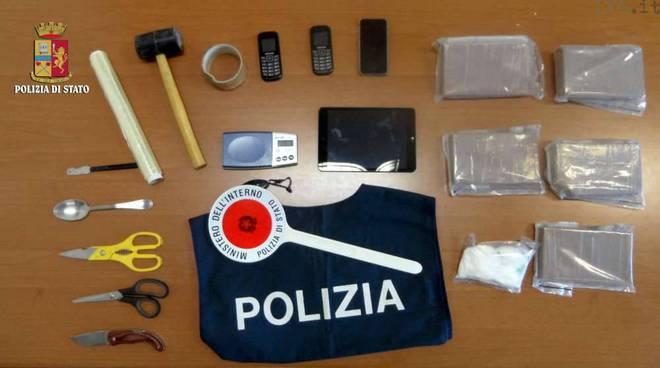 sequestro eroina mobile 3 dicembre
